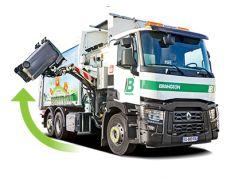 Camion poubelle automatique