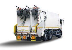 Camion poubelle à tri