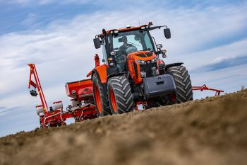 Tracteur agricole traction remorquage