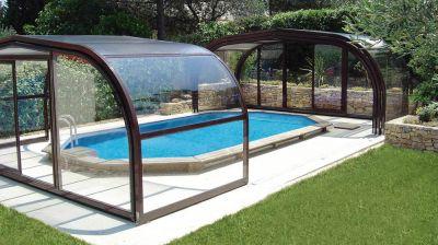 Abris piscine extérieure