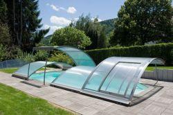 Abris piscine amovible