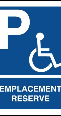 Places de parking PMR : quelles réglementations ?