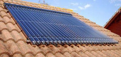 panneau solaire thermique à fluide
