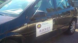 Marquage magnétique voiture