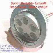 spot led encastrable orientable