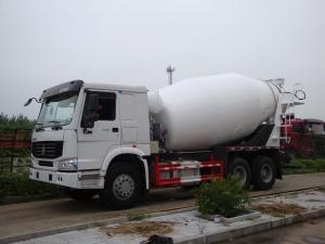 Camion malaxeur semi-remorque