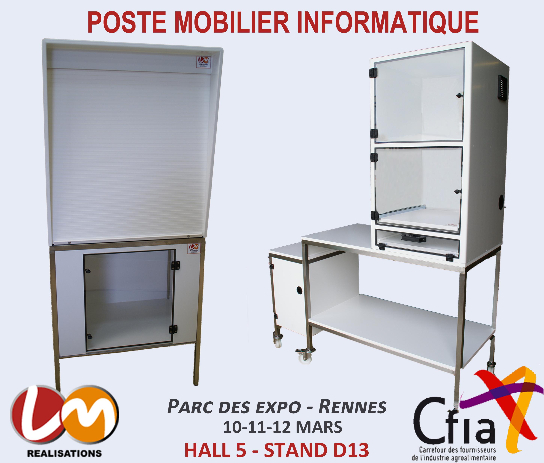 LM Réalisations présent au CFIA Rennes 2015