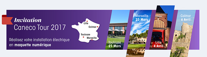 Caneco Tour 2017, à Toulouse, Marseille, Lille ...