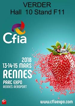Verder sera au salon CFIA de Rennes du 13 au 15 ...