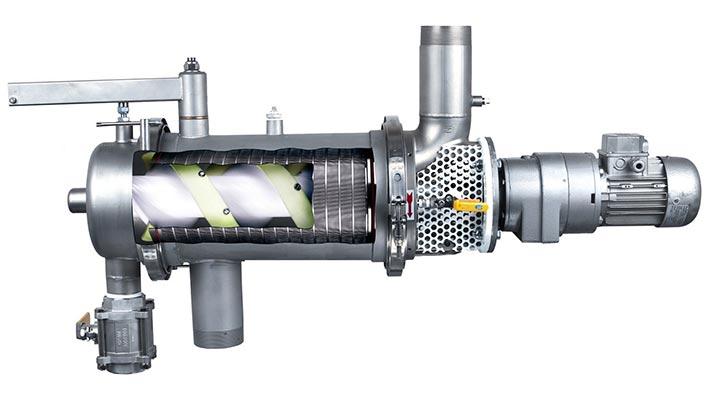 Système de filtration industriel sur une chaine ...