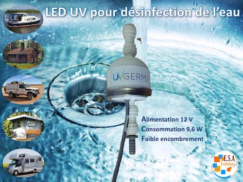 LED UV-C pour éliminer les bactéries virus et ...