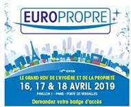 ACCUS + participe au salon Europropre 2019 - ...