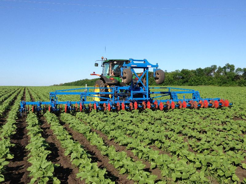 Bineuse agricole