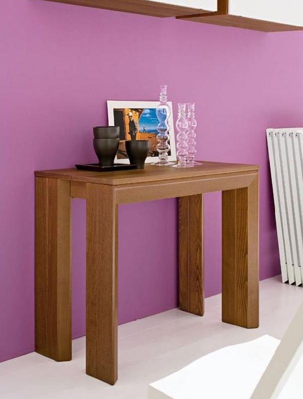 Table console tous les fournisseurs mobilier console meuble console c - Table console extensible pied central ...