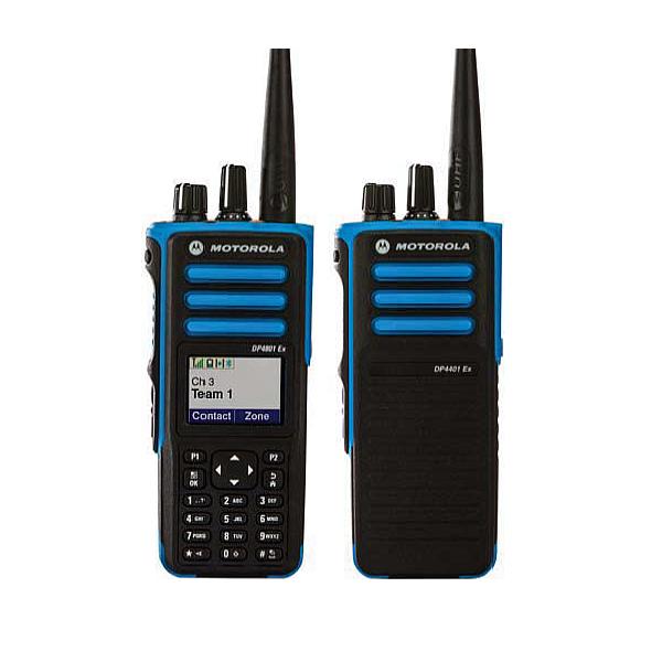 Talkie walkie dp4801 motorola