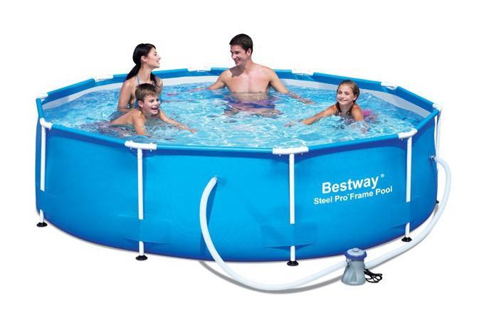 Piscines bestway achat vente de piscines bestway for Piscine tubulaire ronde bestway 3 66 x 1 22m