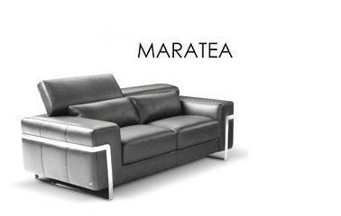 Canape 4 Places Maratea Nicoletti Tissu Ou Cuir Vachette Assises Et Tetieres Modulables