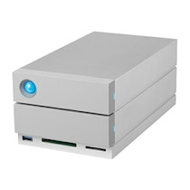 LACIE 2BIG DOCK THUNDERBOLT 3 - BAIE DE DISQUES - 8 TO - 2 BAIES (SATA-600) - HDD 4 TO X 2 - USB 3.1, THUNDERBOLT 3 (EXTERNE)
