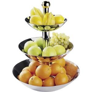 Corbeilles et paniers de cuisine tous les fournisseurs corbeille de cuisine corbeille a - Corbeille a fruits 3 etages ...