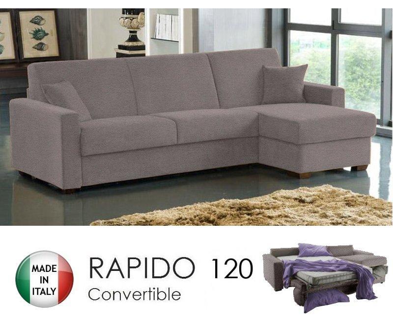 canape lit droit gauche 3 4 places dreamer convertible ouverture rapido 120 195 14 couchage. Black Bedroom Furniture Sets. Home Design Ideas
