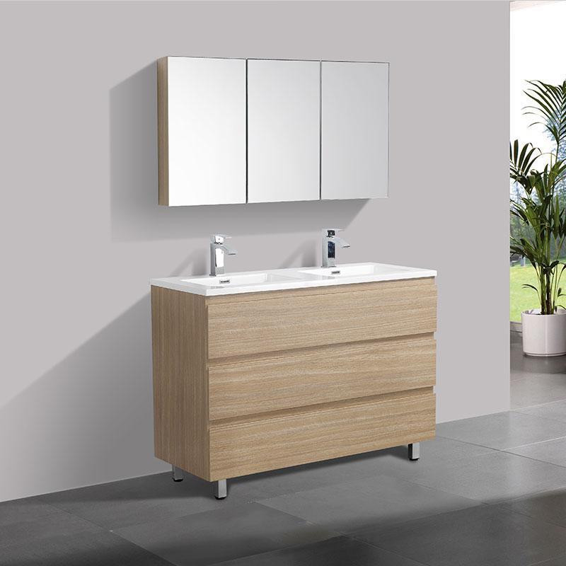 Mobiliers de salle de bain comparez les prix pour professionnels sur page 1 - Meuble de salle de bain 120 cm double vasque ...