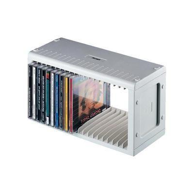 RANGEMENT 20 CD/DVD HAMA