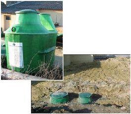 Micro station d'épuration eaux résiduaires residentielles