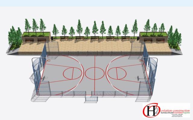 Infrastructures sportives les fournisseurs grossistes et for Terrain de tennis prix