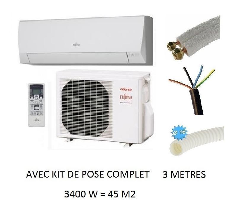 Prix Climatisation Reversible Pose Comprise. climatisation reversible inverter atlantic fujitsu ...