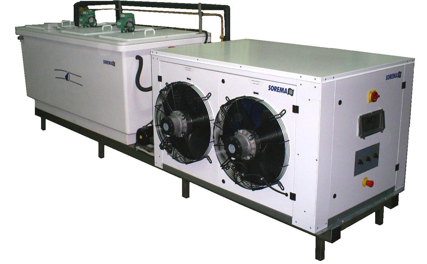 Refroidisseur d'eau glacée agd 1000 p - sorema