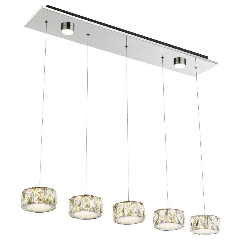 En Ancien Lampes Comparer Les À 5 Laiton Suspension Truncatus Prix IYgyfvb76m