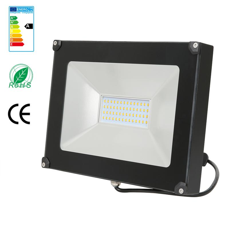 50w projecteur led spot led etanche ip65 lumi re ext rieur for Lumiere spot exterieur