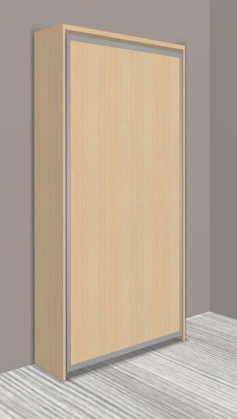 armoire lit escamotable cronos hetre couchage 90 22. Black Bedroom Furniture Sets. Home Design Ideas