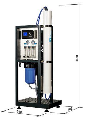 Osmose inverse mo 6500 débit 280 l heure ecosoft