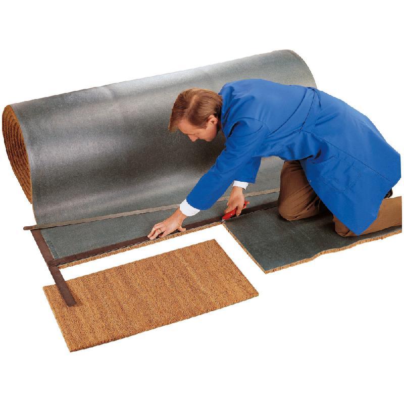 tapis brosse coco sur mesure paisseur 17 mm naturel comparer les prix de tapis brosse coco sur. Black Bedroom Furniture Sets. Home Design Ideas