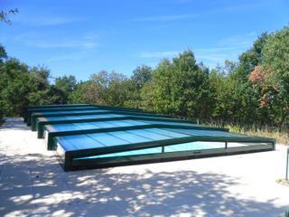 Abris de piscines tous les fournisseurs abri de piscine metal abri de p - Abris de piscine rideau ...