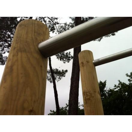 Barres asymétriques