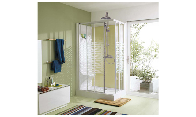 cabine de douche ilo 2. Black Bedroom Furniture Sets. Home Design Ideas