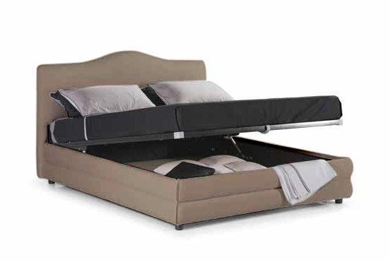 lit coffre design charlotte beige couchage 160 200cm. Black Bedroom Furniture Sets. Home Design Ideas