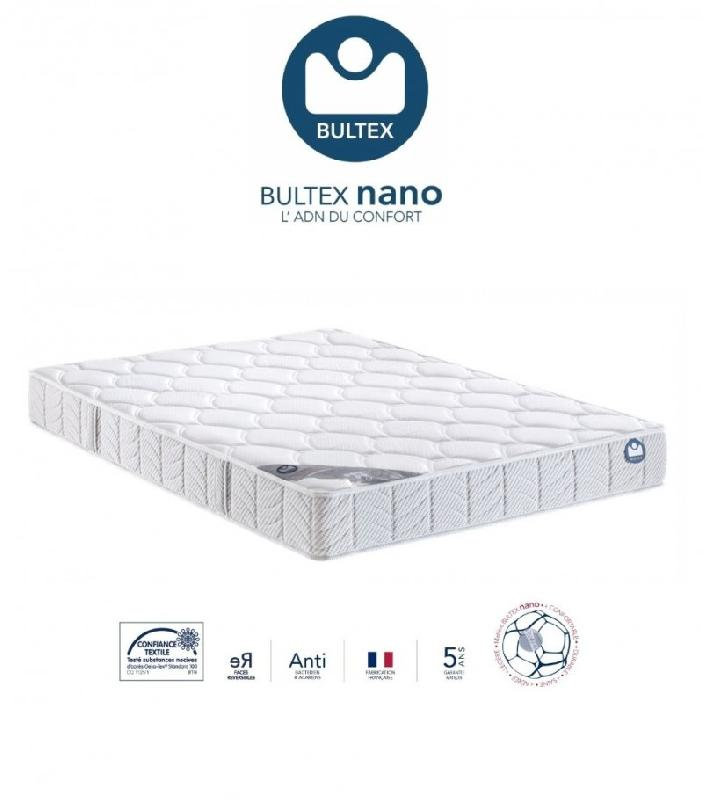 bultex matelas 80 190 cm i novo 120 epaisseur 21 cm. Black Bedroom Furniture Sets. Home Design Ideas
