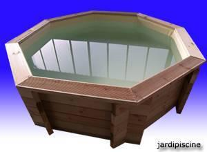 mini piscine bois en kit diametre 2m91 hauteur. Black Bedroom Furniture Sets. Home Design Ideas