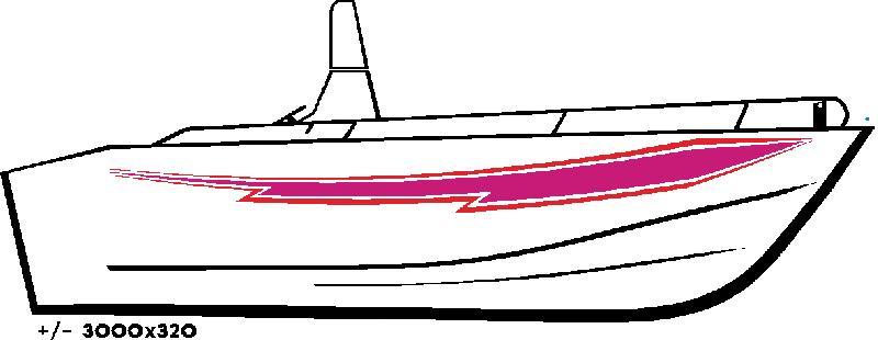 Deco adhesive pour bateau 205 - Decoration de bateau ...