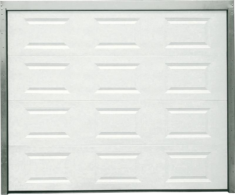 Bricoman produits portes de garage sectionnelles - Dimension porte de garage sectionnelle ...