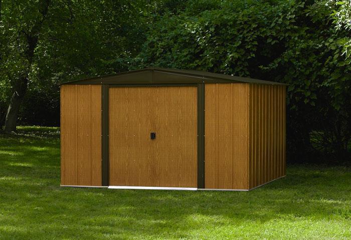 Abri jardin m tal galvanis 11 6m chalet jardin bm 1012 - Abri de jardin yardmaster en metal galvanise ...