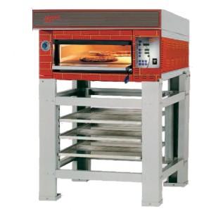 four a pizza professionnel 8 pizzas electrique 1 chambre 600 x 1200 x 170 mm tornati forni. Black Bedroom Furniture Sets. Home Design Ideas
