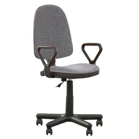 Prestige siège de bureau ergonomique, synchrone gris