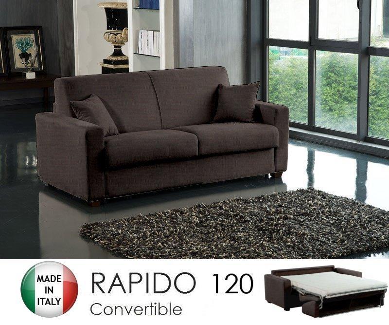 canape ouverture rapido 2 3 places dreamer convertible lit 120 190 14 couchage quotidien tweed. Black Bedroom Furniture Sets. Home Design Ideas