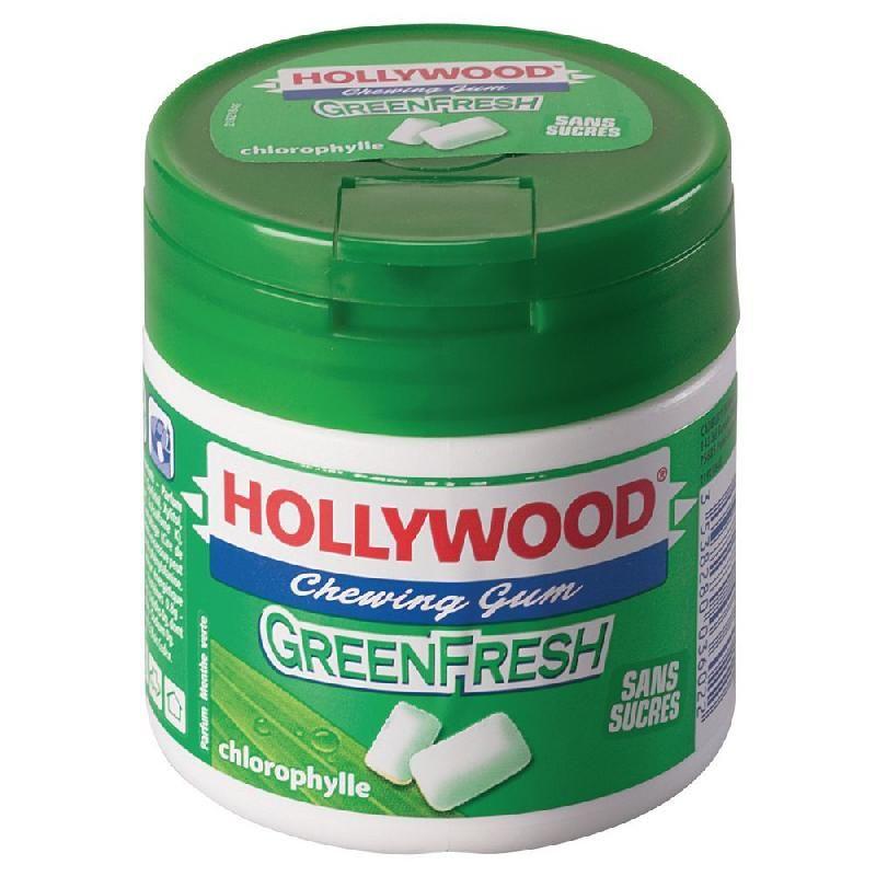 Easy box chewing gum green fresh sans sucre hollywood lot de 6 comparer les prix de easy box - Comment enlever du chewing gum sur du tissu ...