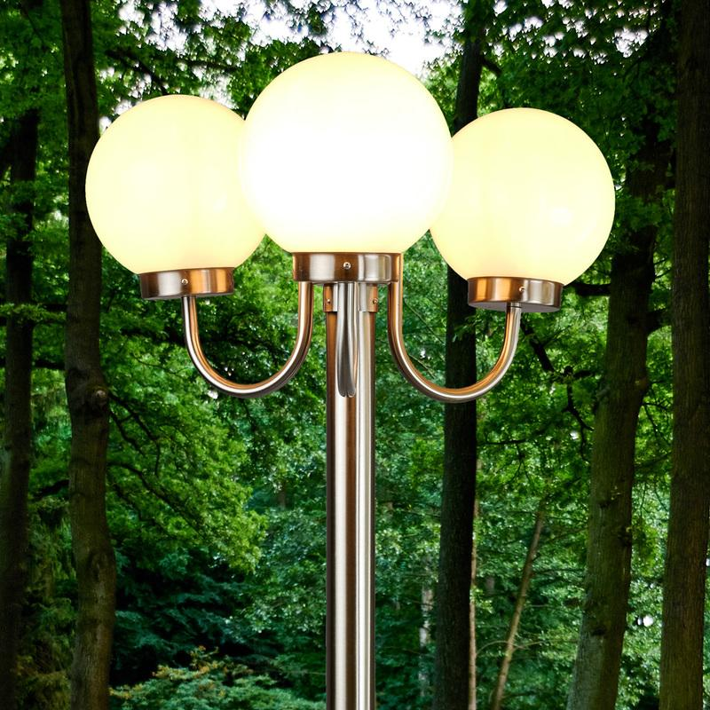 lampadaires de jardin lampenwelt achat vente de. Black Bedroom Furniture Sets. Home Design Ideas