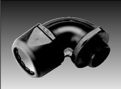 Raccord coude pour gaine - Gaine exterieure pour cable electrique ...